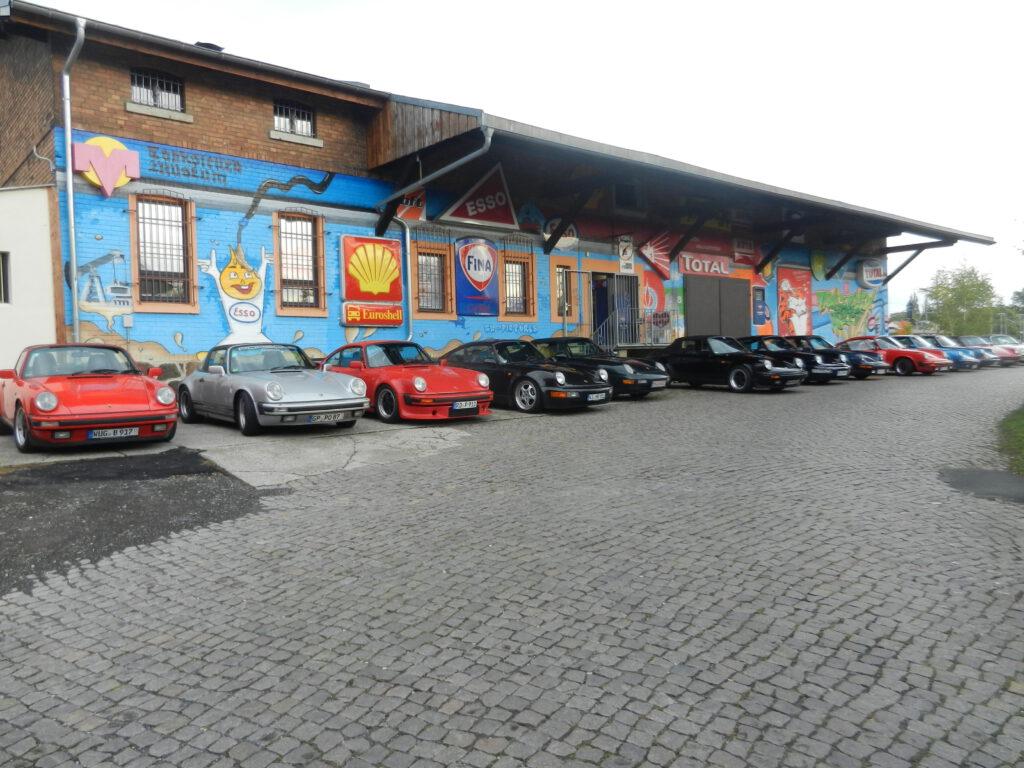 Besuch des Porsche Club