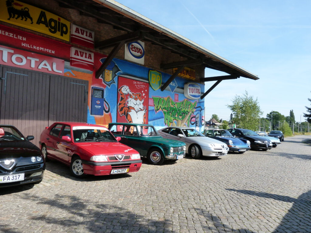 Besuch des Alfa-Romeo-Club e.V