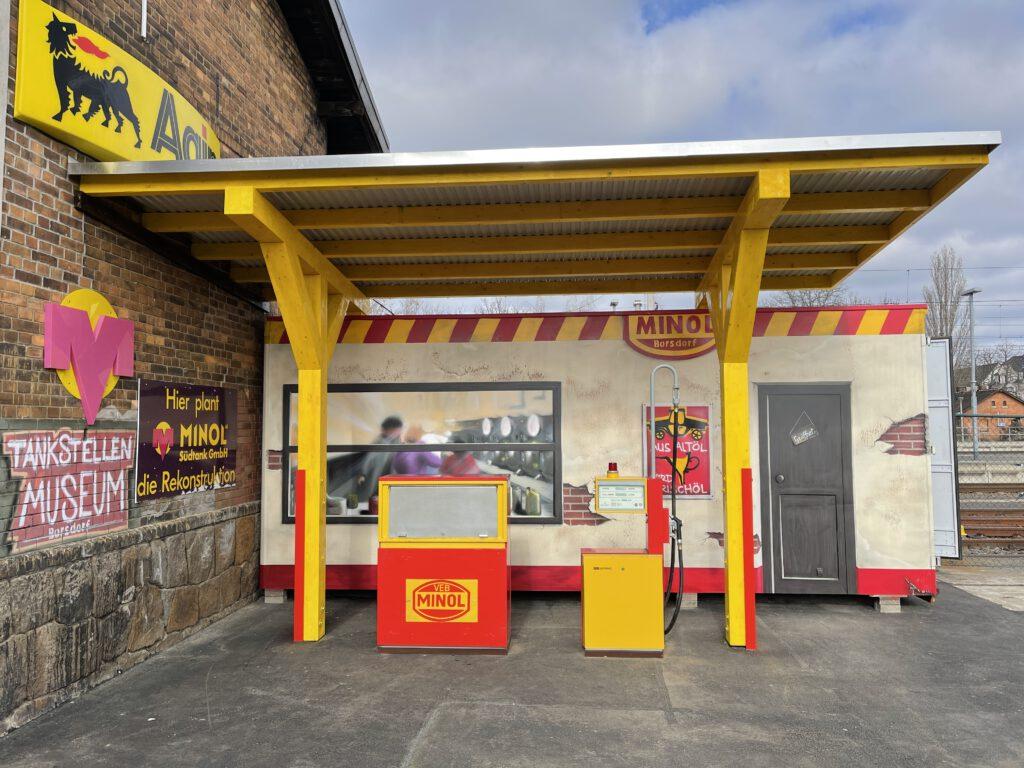 Die MINOL Tankstelle
